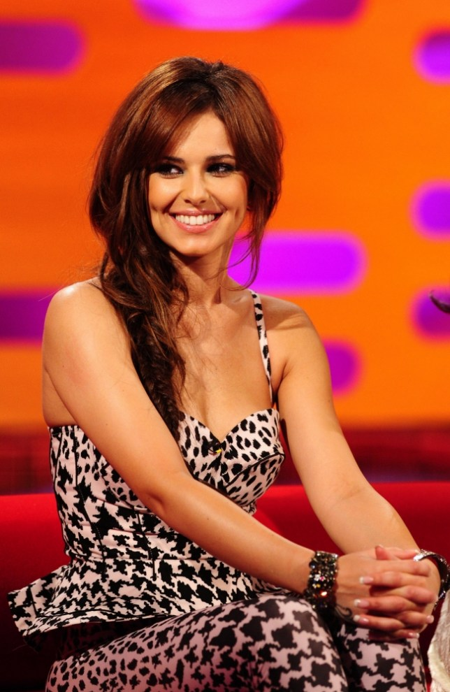 Cheryl Cole during filming of the Graham Norton show at the London Studios, London.    PRESS ASSOCIATION Photo. Picture date: Thursday June 7, 2012. Photo credit should read: Ian West/PA Wire