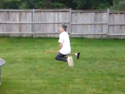 Witch broomstick riding becomes latest Vine video craze