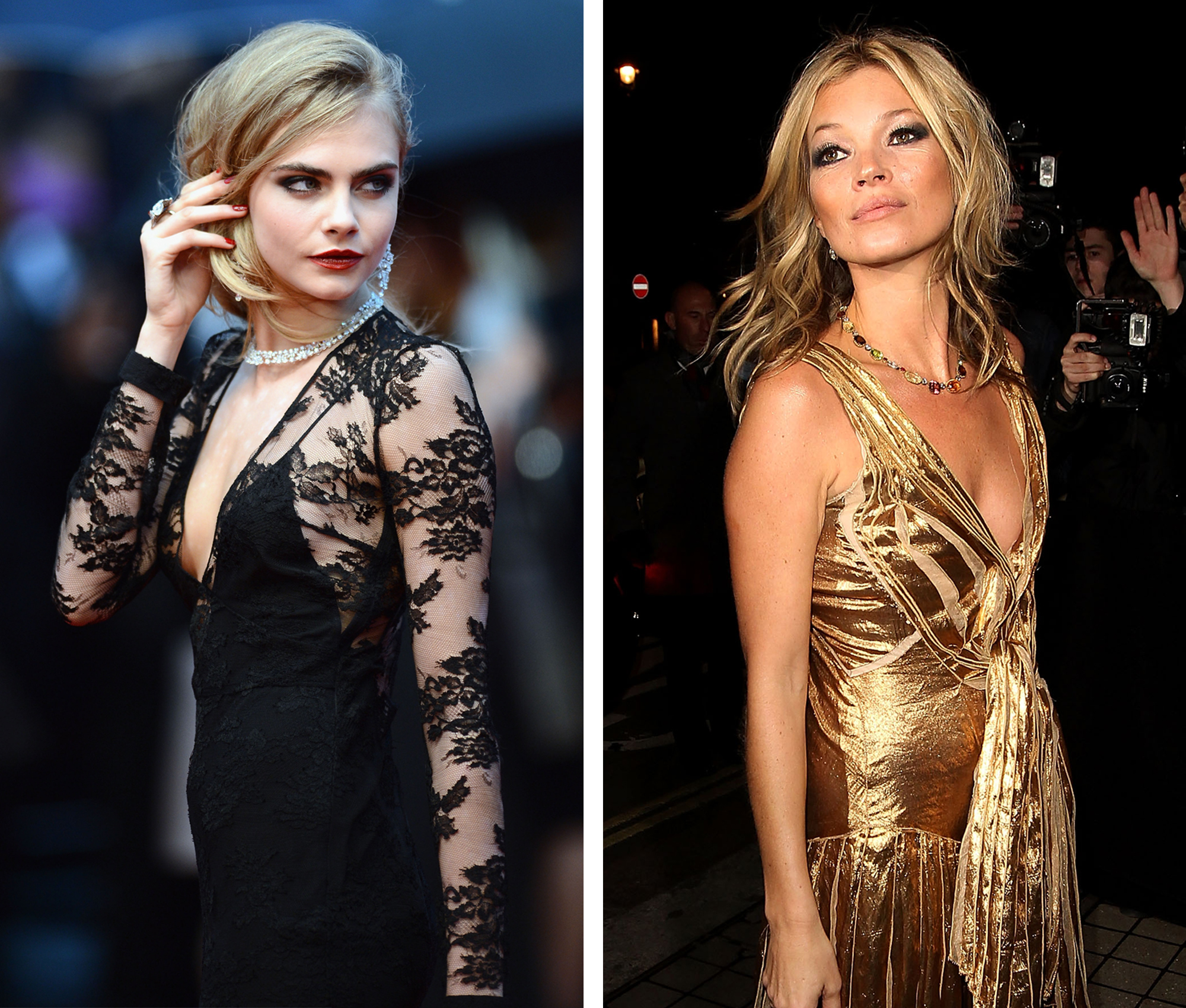 Cara Delevingne v Kate Moss: Celebrity Face-Off