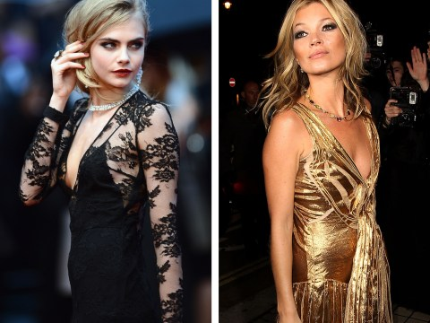 Cara Delevingne v Kate Moss: Celebrity Face-Off