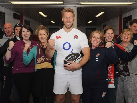 England skipper Chris Robshaw joins Guinness in hunt for a rugby 'Fanbassador'