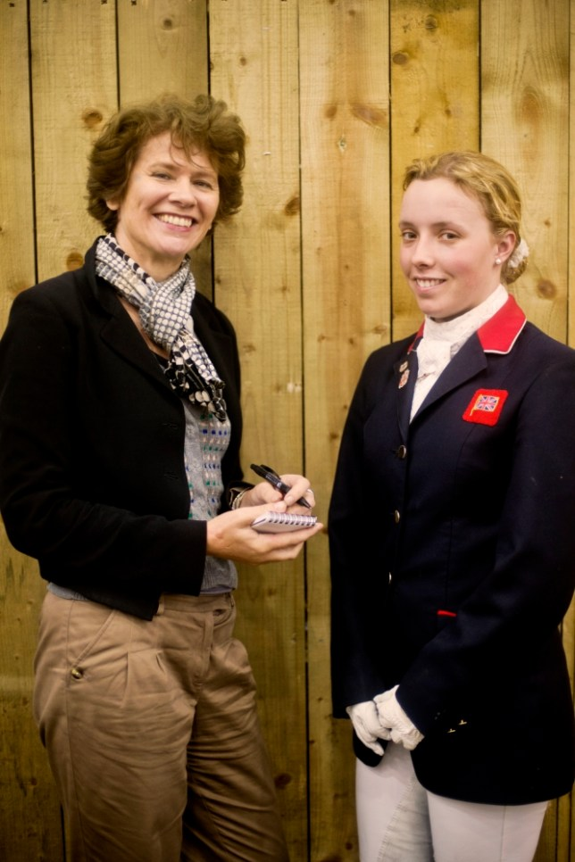 Judith Mackrell with Sophie Wells