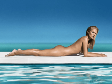 Kate Moss becomes Playboy cover girl for 60th anniversary issue