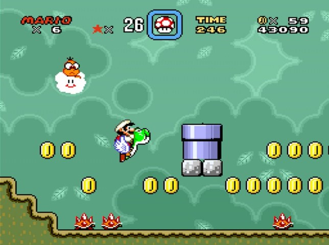 Super Mario World - now that's how to launch a console