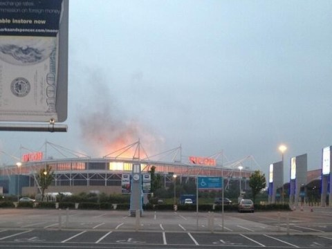 Muse cause 'Ricoh Arena fire' false alarm on Twitter