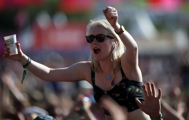 This could be you - if you survive the arduous battle to get Glastonbury tickets (Picture: Getty)