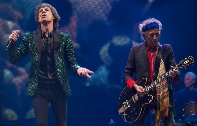 Rolling Stones Glastonbury Festival
