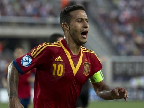 Manchester United target Thiago Alcantara stars with hat-trick as Spain win U21 Euros