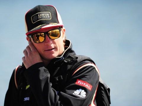 Kimi Raikkonen hints at succeeding Mark Webber at Red Bull