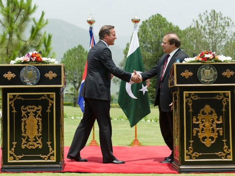 David Cameron promises 'tough and uncompromising' stand against terrorism on Pakistan visit