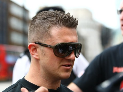 EDL leader Tommy Robinson bailed after being arrested on Lee Rigby march