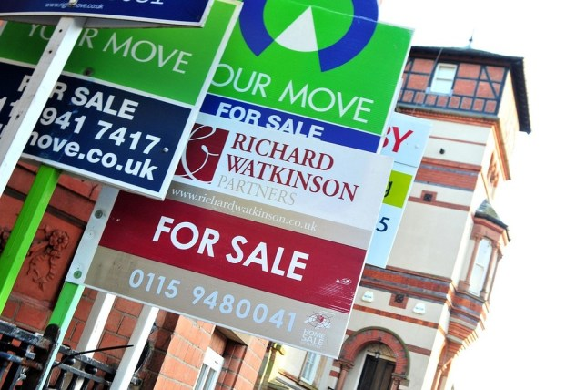 Buy-buy to reality: House prices up £50,000 in one month