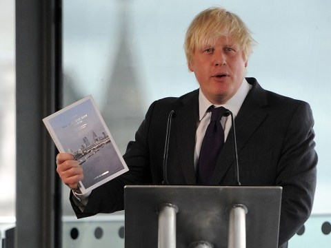 Boris Johnson plots for 'garden bridge' over Thames