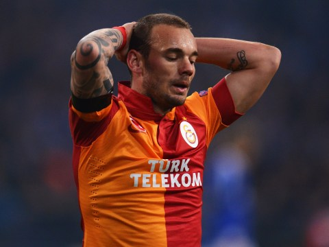 Galatasaray president tells Chelsea they can have Wesley Sneijder for just £15million
