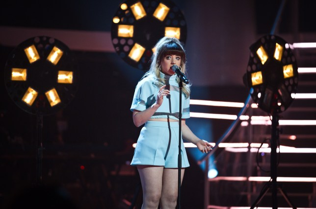 Leah McFall has been wowing judges and audiences on The Voice (Picture: BBC)