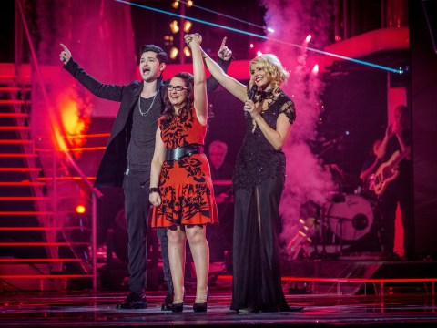 Gallery: Andrea Begley wins The Voice final 2013