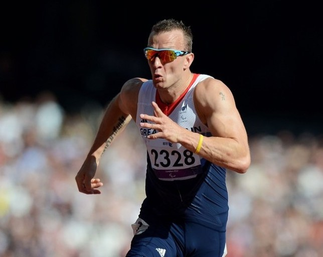 Inspirational: Whitehead won 200m gold in the capital (Picture: Getty Images)