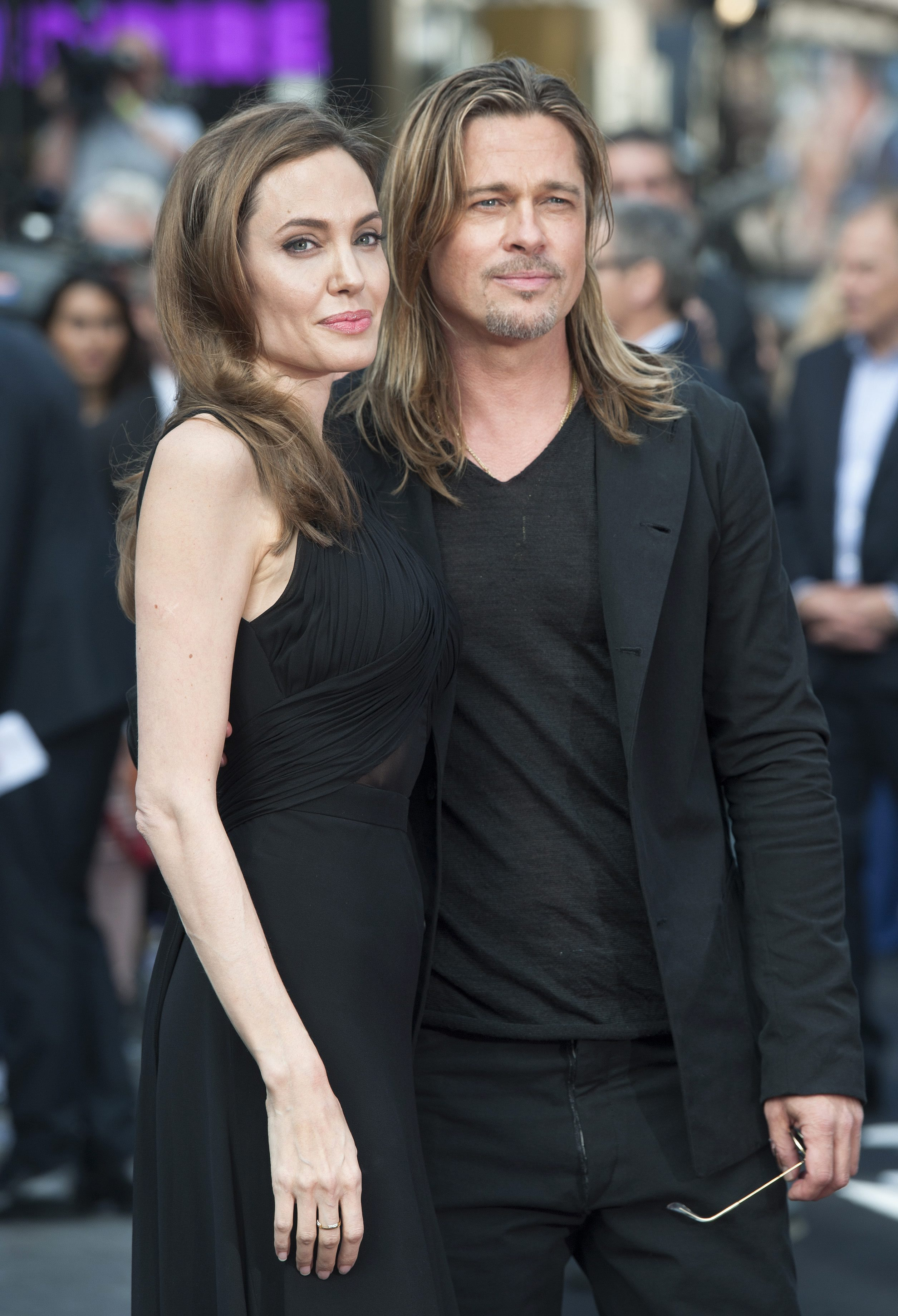 Gallery Brad And Angelina At The World War Z Premiere In