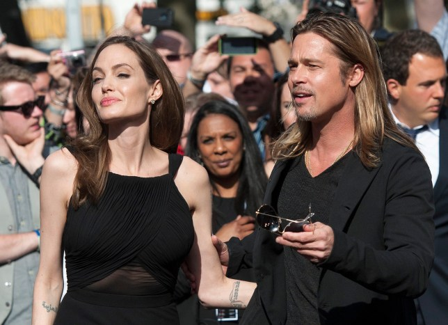 Have Brad Pitt and his partner Angelina Jolie secretly wed? (Picture: EPA)