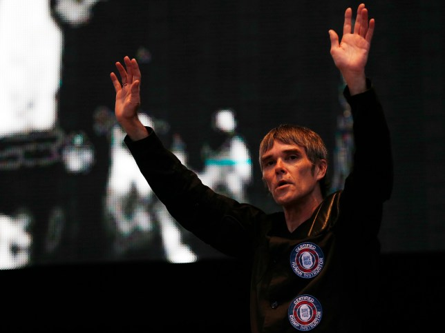 Stone Roses played two gigs in Finsbury Park over the weekend (Picture: Reuters)