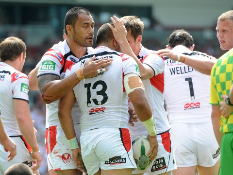 St Helens beat Bradford Bulls to close in on Super League play-off spot