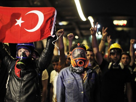 Gallery: Police and protesters clash in Istanbul as Gezi Park is cleared