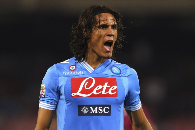 FILE: According To Reports Manchester City Are Out Of The Running For Striker Edinson Cavani