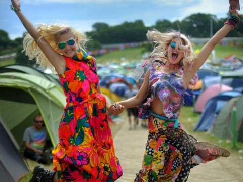 Gallery: Sun shines on day two of Glastonbury 2013