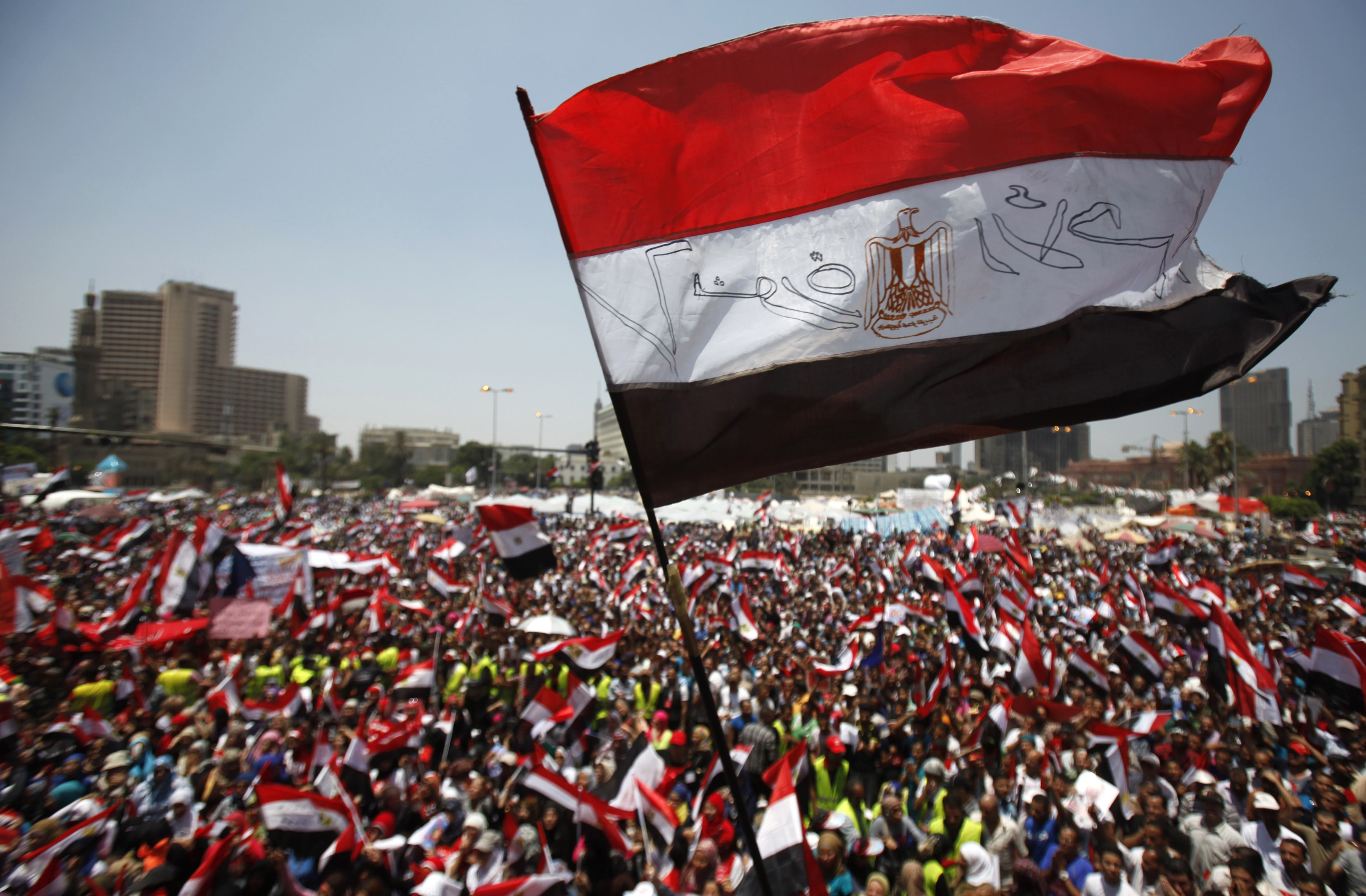 Gallery: Anti-Morsi protest rallies take place in Egypt