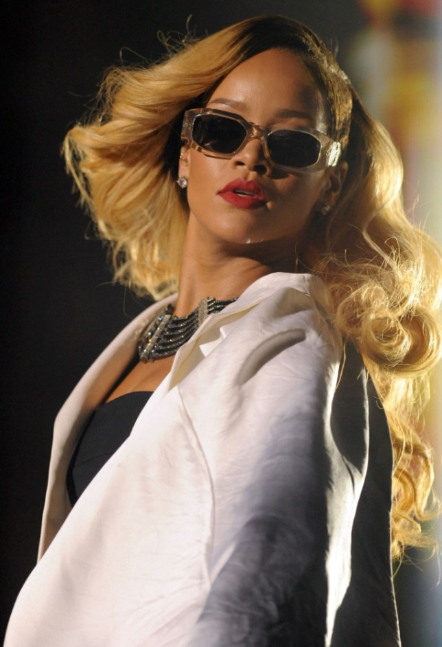 US singer Rihanna performs during the 12th edition of the Mawazine music festival  in Rabat on May 24,2013.  AFP PHOTO / FADEL SENNAFADEL SENNA/AFP/Getty Images