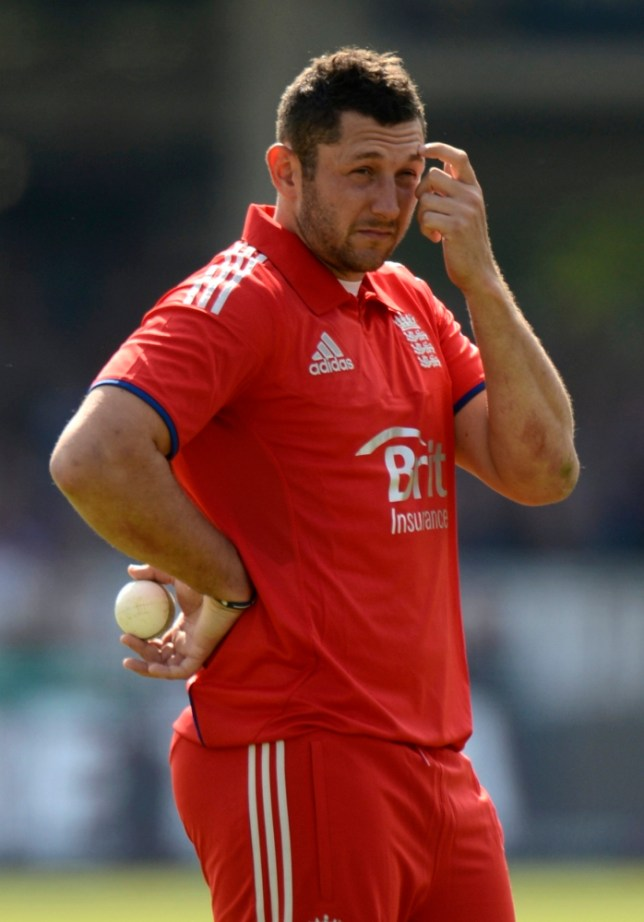 England's Tim Bresnan looks on during the first one-day international cricket match against New Zealand at Lord's cricket ground in London, England May 31, 2013. REUTERS/Philip Brown (BRITAIN - Tags: SPORT CRICKET)