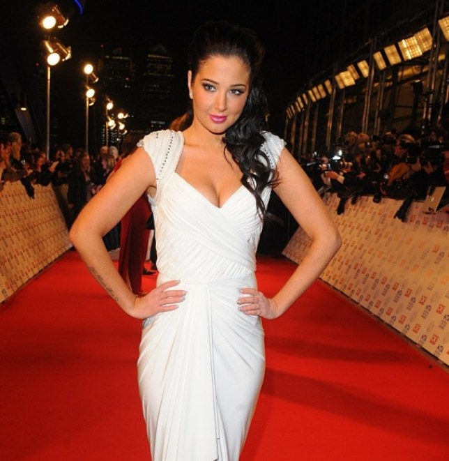 Tulisa Contostavlos arriving for the 2013 National Television Awards at the O2 Arena, London.   PRESS ASSOCIATION Photo. Picture date: Wednesday January 23, 2013. See PA story SHOWBIZ Television. Photo credit should read: Ian West/PA Wire