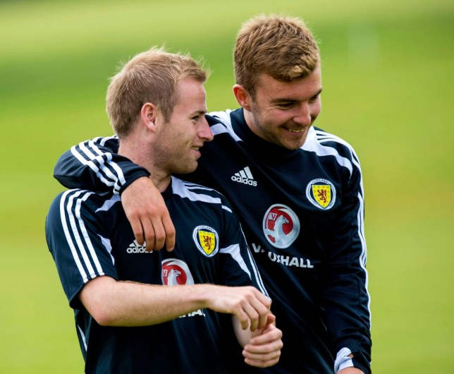 Barry Bannan and James Morrison