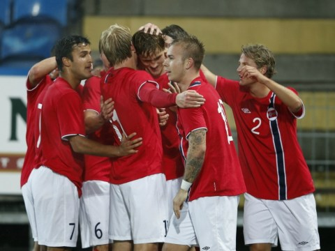 Norway Under-21s find themselves out of tune with air hostess