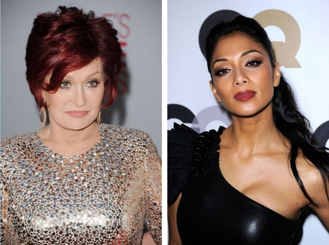 Nicole Scherzinger and Sharon Osbourne are in the face off (Image: Getty)