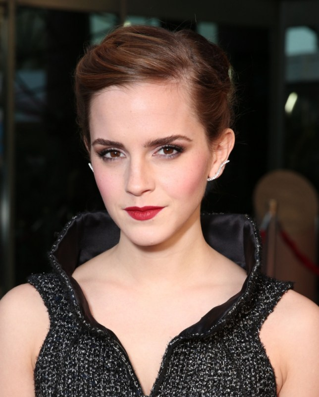"Emma Watson attends the LA premiere of ""The Bling Ring"" at the Director's Guild of America on Tuesday, June 4, 2013 in Los Angeles. (Photo by Todd Williamson/Invision/AP)"