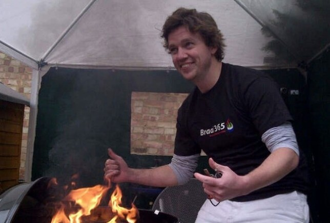 Mathew Hartley BBQ every day for a year Matt Hartley