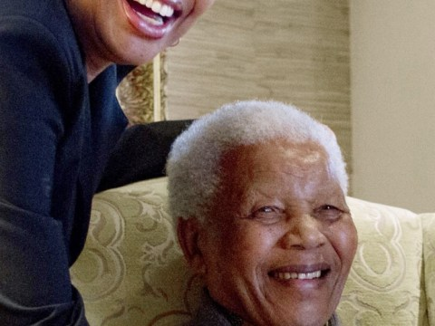 Nelson Mandela's wife Graca Machel thanks well-wishers