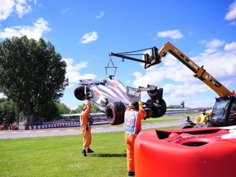 Canadian Grand Prix ends in tragedy as marshal is killed by crane