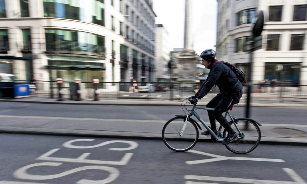 Improved helmet design and motion sensors are among the technological highlights of Bike Week (Picture: Peter Barbe/Alamy)