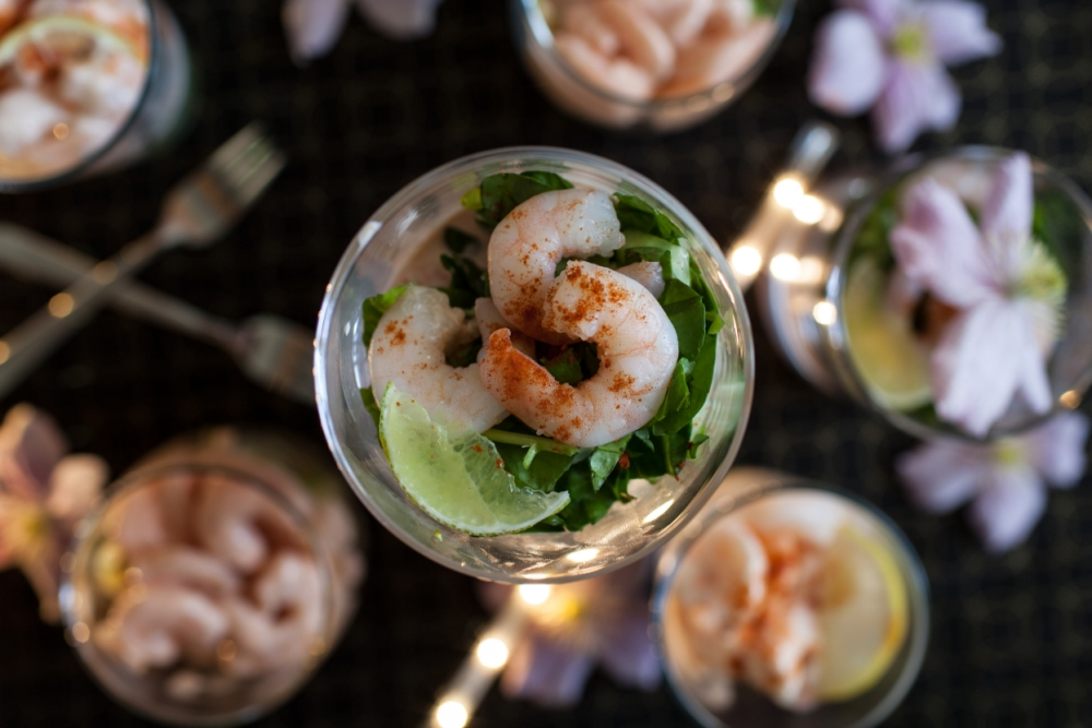 Chloe's version of this simple starter is a prawn-again classic (Picture: Oli Jones)