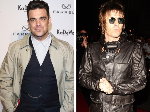 The Voice 'steps up security' for Robbie Williams and Liam Gallagher performances