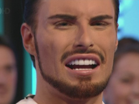 Rylan Clark pokes fun at his blinding new gnashers on Big Brother's Bit On The Side
