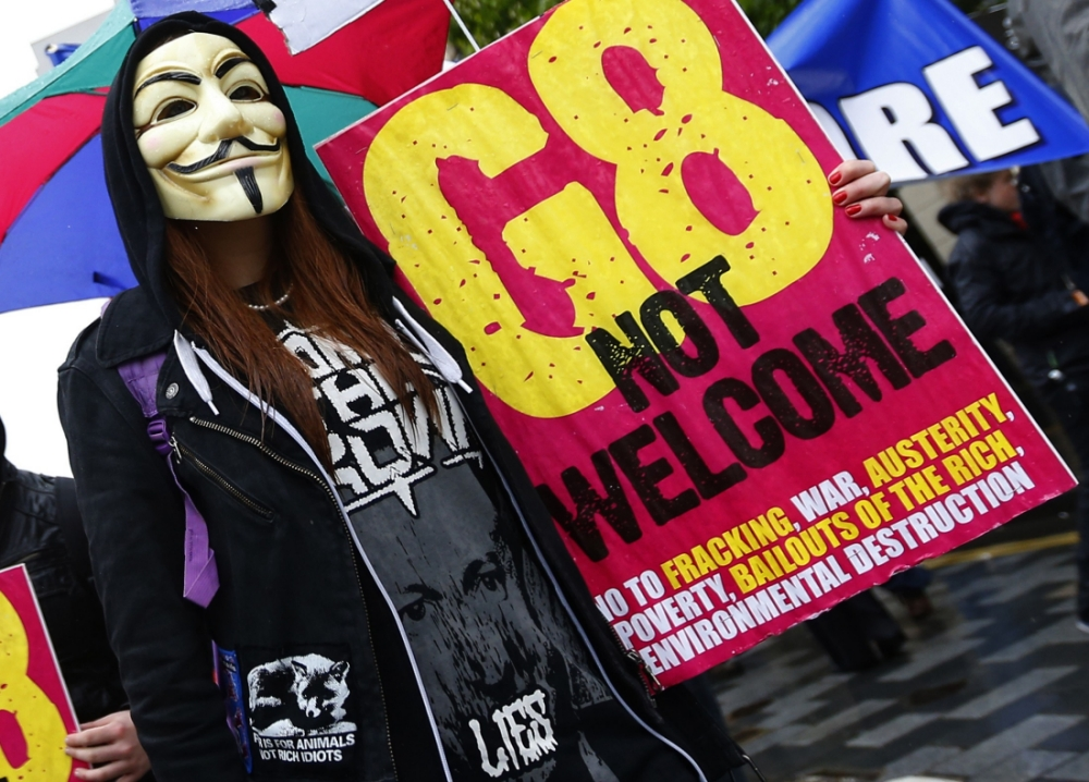Anti-G8 protests continue on day two of the summit