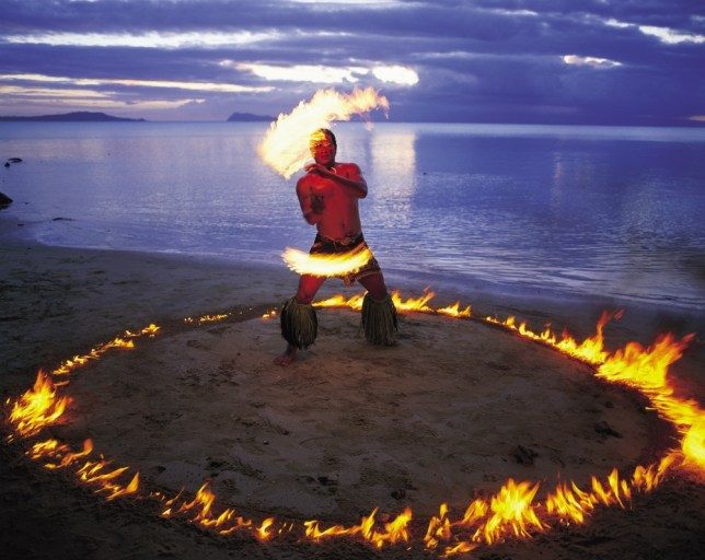 A centuries-old fire knife festival is part of Samoa's Siva Afi festival (Picture: Kirklandphotos.com)