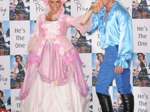 Katie Price ropes Prince Charming Kieran Hayler into wacky book launch as she reveals pregnancy woes