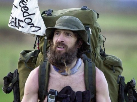 Naked rambler jailed again after walking out of prison in the buff
