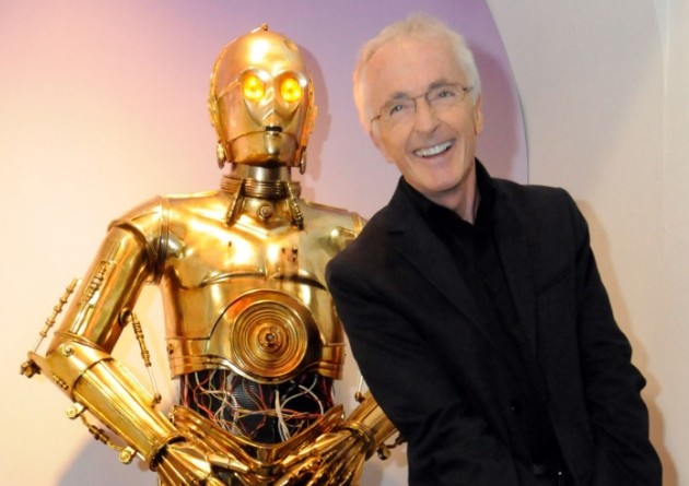 Anthony Daniels has played C-3PO in the Star Wars franchise since 1977 (Picture: Rex)