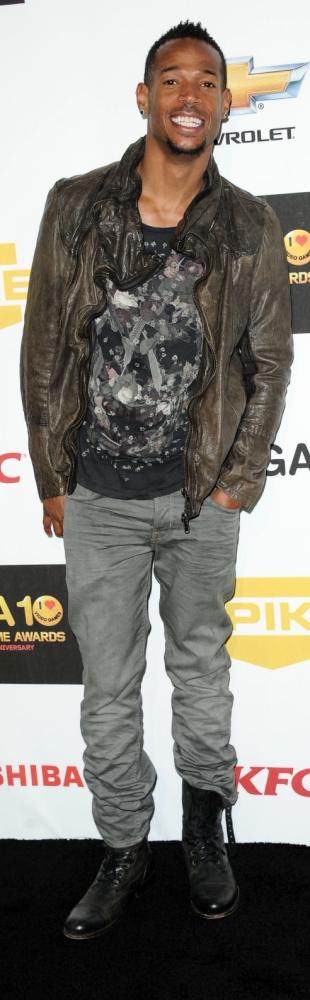 Marlon Wayans Spike TV'S Video Game Awards, Culver City, America - 07 Dec 2012