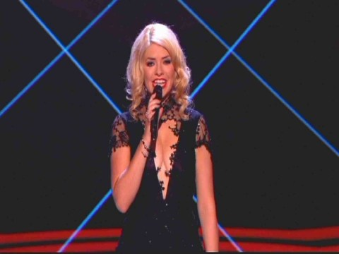 Holly Willoughby's voluptuous The Voice dress given 'ok' by Ofcom